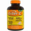 American Health, エスターC, シトラスバイオフラボノイド配合の500 mg, 240カプセル