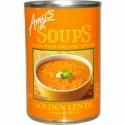 Amy's, スープ, ゴールデンレンティル, インディアンダール(カレー), 14.4オンス (408 g) (Discontinued Item)