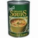 Amy's, オーガニック スープ、 野菜 大麦、 ローファット、 14.1 oz (400 g) (Discontinued Item)