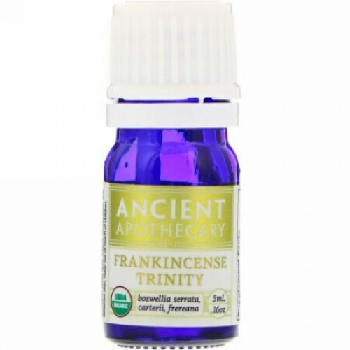 Ancient Apothecary, フランキンセンス、トリニティ、0.16オンス (5 ml) (Discontinued Item)