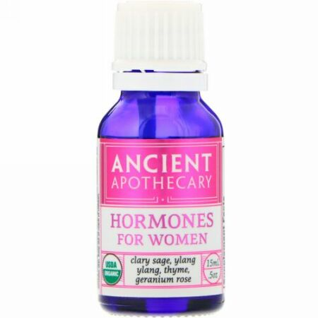 Ancient Apothecary, 女性用ホルモン、0.5オンス (15 ml) (Discontinued Item)