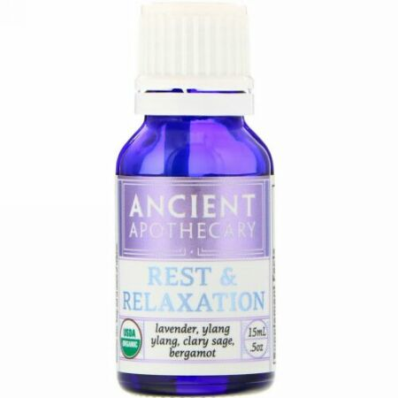 Ancient Apothecary, 休息とリラクゼーション、.5オンス (15 ml) (Discontinued Item)