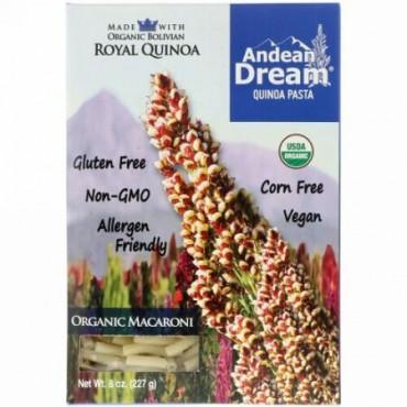 Andean Dream, キノアパスタ マカロニ 8 oz (227 g) (Discontinued Item)