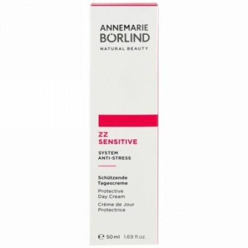 AnneMarie Borlind, ZZ Sensitive、システムアンチストレス、デイクリーム、1.69 fl oz (50 ml)