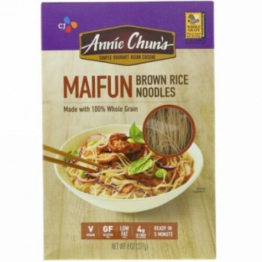 Annie Chun's, マイフン, 玄米ヌードル, 8 オンス (227 g) (Discontinued Item)