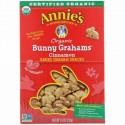 Annie's Homegrown, オーガニックバニーグラハムズ、シナモン、213g(7.5オンス)
