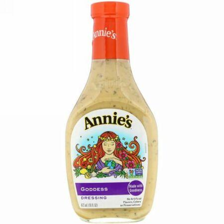 Annie's Naturals, ナチュラル ゴッデスドレッシング、 16 fl oz (473 ml) (Discontinued Item)