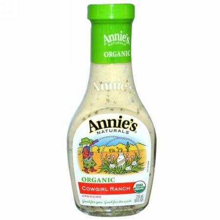 Annie's Naturals, オーガニック オイル & ビネガー バルサミコ ビネガー ドレッシング、 8 fl oz (236 ml) (Discontinued Item)