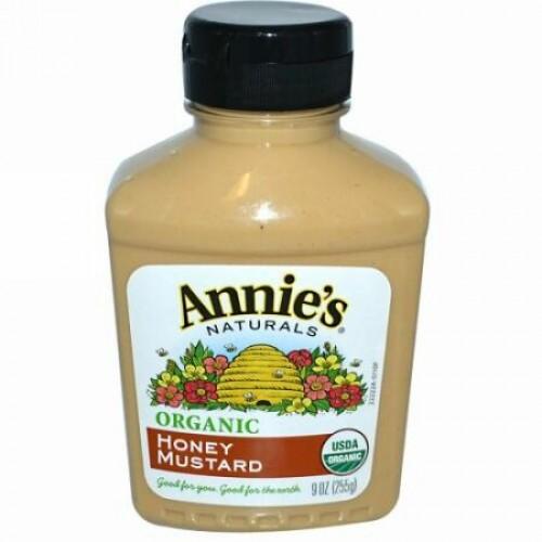 Annie's Naturals, オーガニック, ディジョンマスタード, 9 oz (255 g)