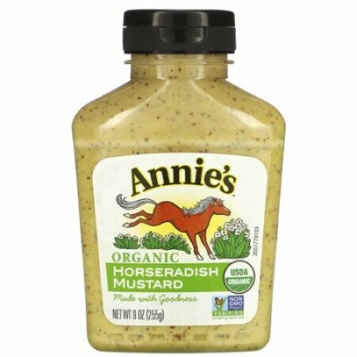 Annie's Naturals, オーガニック、 ハニー マスタード、 9 oz (255 g) (Discontinued Item)