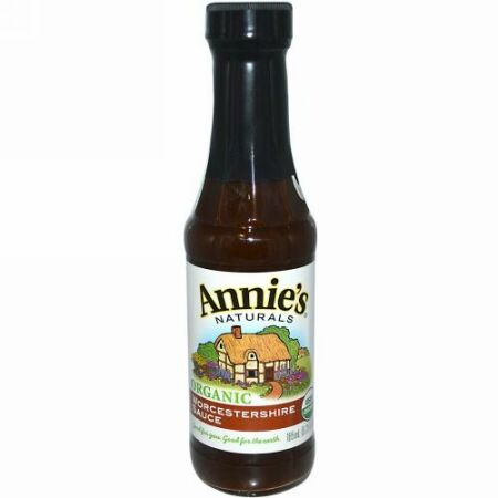 Annie's Naturals, オーガニック, ウスターソース, 6.25 液量オンス (185 ml)