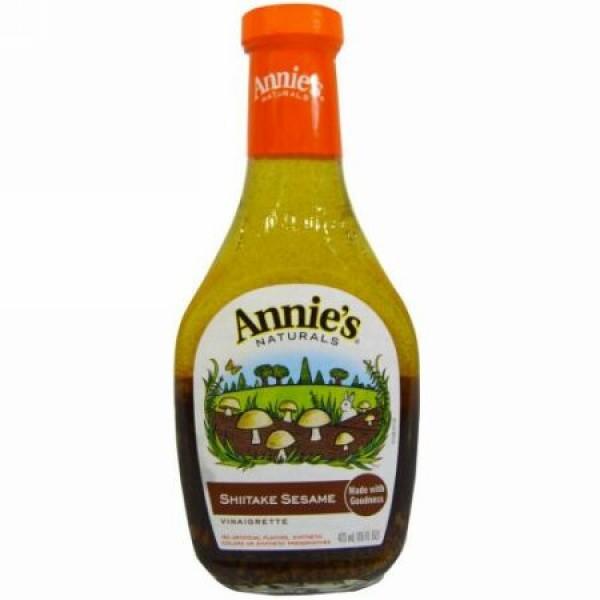 Annie's Naturals, シイタケセサミ ドレッシング、 16 fl oz (473 ml) (Discontinued Item)