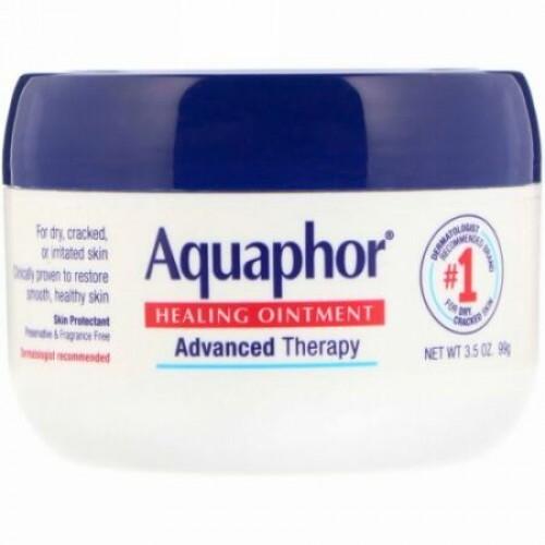 Aquaphor, ヒーリングオイントメント、スキンプロテクタント、99 g(3.5 oz)
