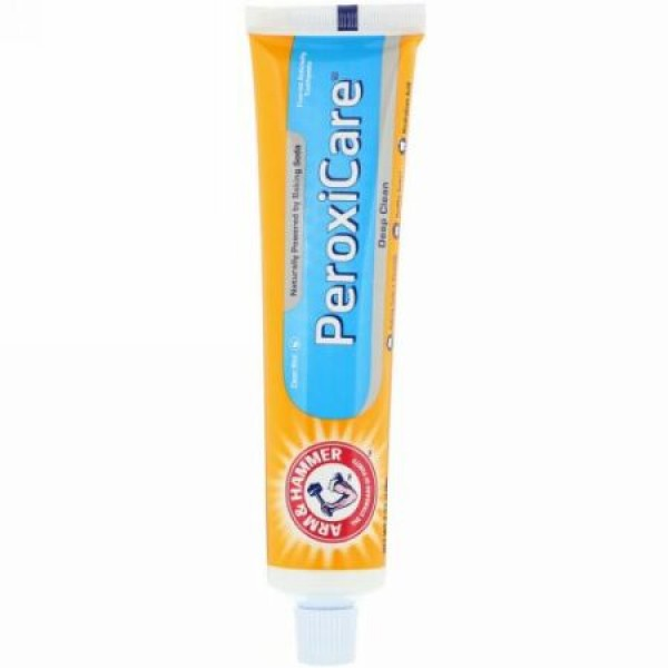 Arm & Hammer, PeroxiCare, Deep Clean Toothpaste, Fresh Mint, 6.0 oz (170 g)