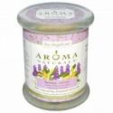 Aroma Naturals, 100% 天然ソイ・エッセンシャルオイル・キャンドル、セレニティ、イランイラン、& ラベンダー、8.8 oz (260 g) 7.5㎝x 8.8㎝ (Discontinued Item)