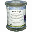Aroma Naturals, 100% 天然ソイ・エッセンシャルオイル・キャンドル、トランクウィリティー、ラベンダー、8.8 オンス (260 g)