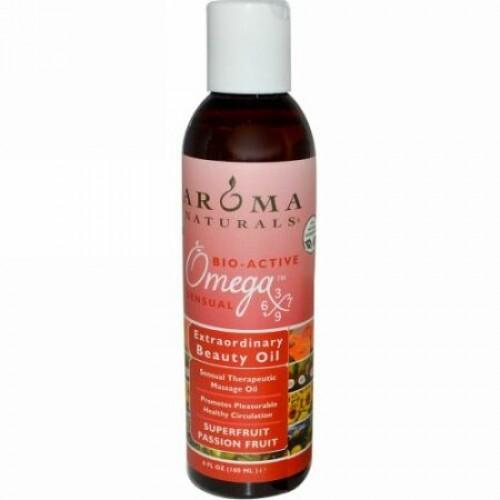Aroma Naturals, エクストラオーディナリー・ビューティオイル、スーパーフルーツ・パッションフルーツ、6 液体オンス(180 ml) (Discontinued Item)