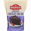 Arrowhead Mills, オーガニックチョコレートケーキミックス, 18.6オンス (527 g) (Discontinued Item)