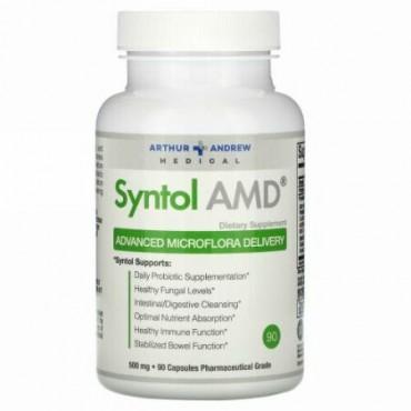 Arthur Andrew Medical, Syntol AMD、ミクロフローラの高度な供給、500 mg、90カプセル