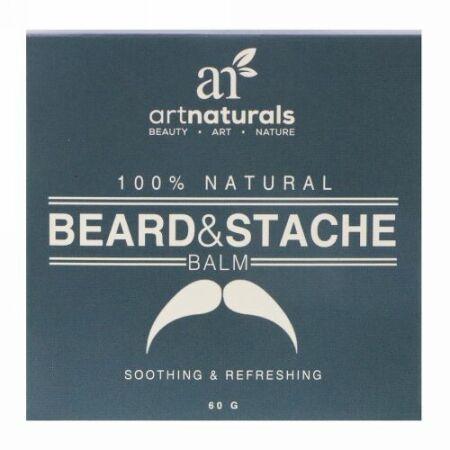 Artnaturals, 100%天然、ヒゲ・口ヒゲ用バーム、60 g