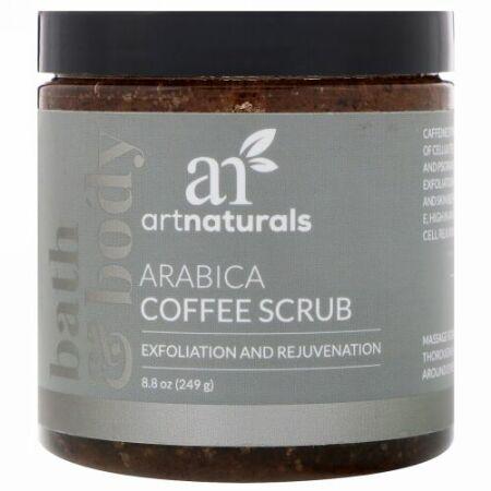Artnaturals, アラビカコーヒースクラブ、8.8 oz (249 g) (Discontinued Item)