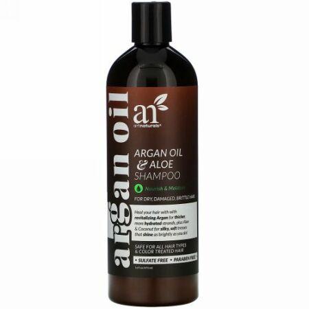 Artnaturals, Argan Oil & Aloe Shampoo, 16 fl oz (473 ml)