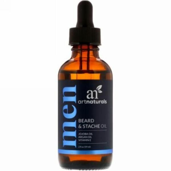 Artnaturals, 顎髭・口髭用オイル、2 fl oz (59 ml)