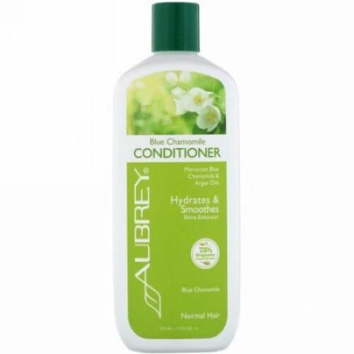 Aubrey Organics, Blue Chamomile Conditioner, Hydrates & Smoothes, Normal, 11 fl oz (325 ml)