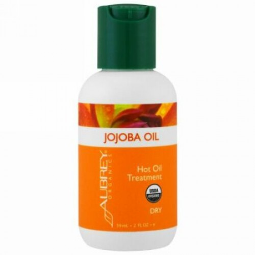 Aubrey Organics, Organic Jojoba Oil, 2 fl oz (59 ml) (Discontinued Item)