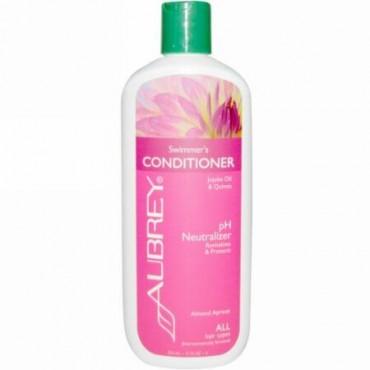 Aubrey Organics, Swimmer's Normalizing Conditioner, スペシャルケア, ストレスをうけた髪用, 11液量オンス (325 ml) (Discontinued Item)