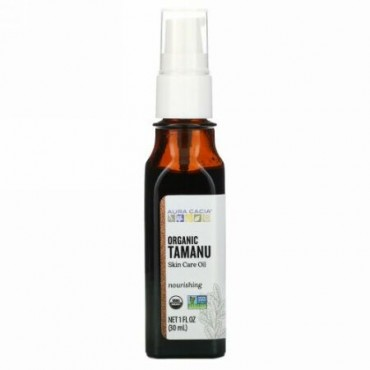 Aura Cacia, Organic Tamanu Skin Care Oil, 1 fl oz (30 ml)