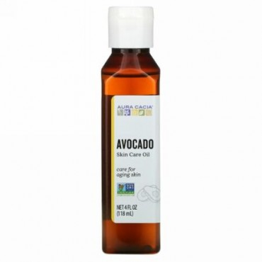 Aura Cacia, Skin Care Oil, Comforting Avocado, 4 fl oz (118 ml)