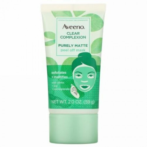 Aveeno, Clear Complexion, Purely Matte Peel Off Mask, 2 oz (59 g) (Discontinued Item)