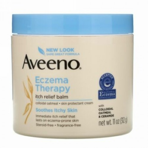 Aveeno, Active Naturals, Eczema Therapy Itch Relief Balm, 11 oz (312 gl)