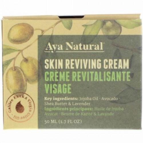 Aya Natural, スキン リバイビング クリーム、1.7 fl oz (50 ml) (Discontinued Item)