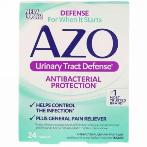 Azo, 尿路ディフェンス、抗生保護、24錠 (Discontinued Item)