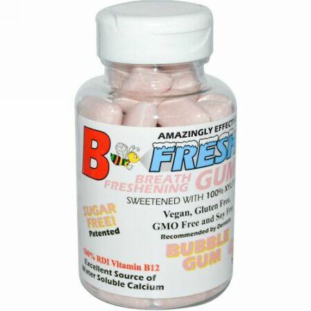 B-Fresh, ブレスフレッシングガム、バブルガム、 50粒