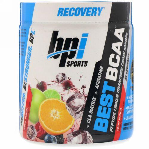 BPI Sports, Best BCAA, Fruit Punch、10.58 オンス(300 g)