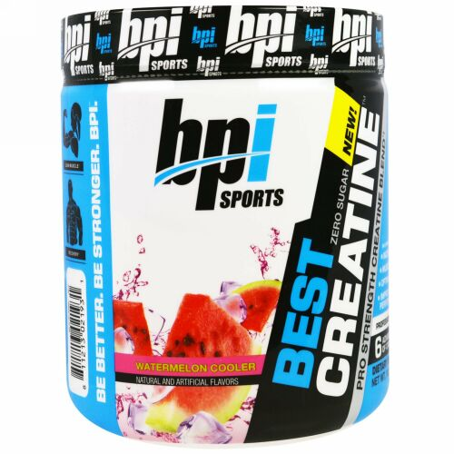BPI Sports, Best Creatine Pro Strength Creatine Blend, Watermelon Cooler 10.58 oz (300 g) (Discontinued Item)