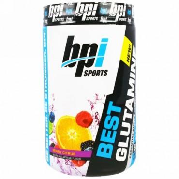 BPI Sports, ベスト・グルタミン, ベリー柑橘類, 400 g
