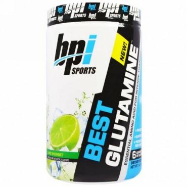 BPI Sports, ベストグルタミン、必須アミノ酸、ライムシャーベット、14.1オンス(400g) (Discontinued Item)