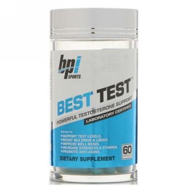 BPI Sports, ベストテスト、強力なテストステロンサポート、カプセル60粒 (Discontinued Item)