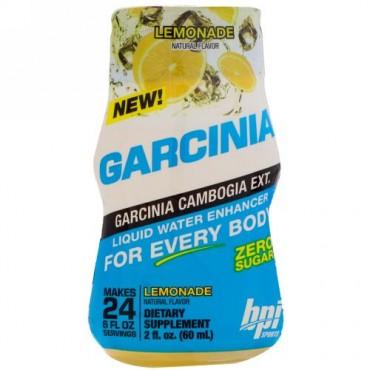 BPI Sports, ガルシニア・リキッドウォーターエンハンサー、レモネード、 2 fl oz (60 ml) (Discontinued Item)