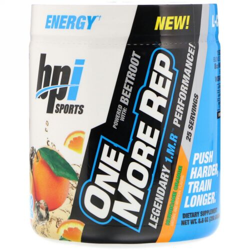 BPI Sports, One More Rep, Hurricane Orange, 8.8 oz (250 g) (Discontinued Item)
