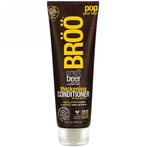 BRöö, Craft Beer, Thickening Conditioner, for Fine, Flat Hair, Citrus Creme, 8.5 fl oz (250 ml) (Discontinued Item)