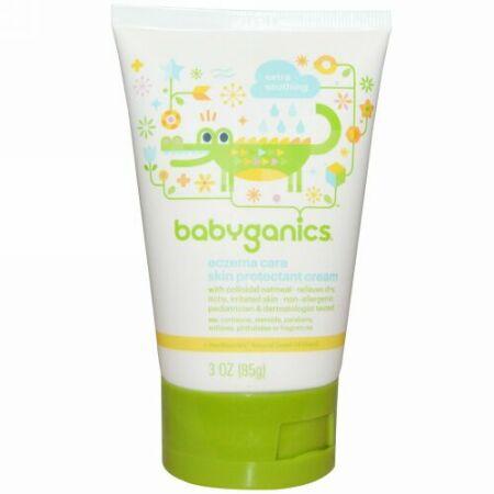 BabyGanics, 湿疹ケア, スキン保護クリーム, 3 oz (85 g) (Discontinued Item)
