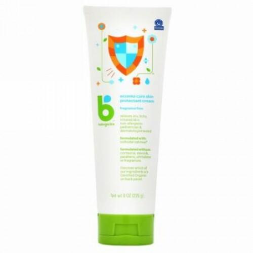 BabyGanics, Eczema Care Skin Protectant Cream, 8 oz (226 g) (Discontinued Item)