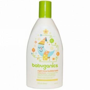 BabyGanics, ナイトタイム バブルバス、 オレンジブロッサム、 12 fl oz (354 ml) (Discontinued Item)