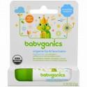 BabyGanics, オーガニック・リップ&フェース・バーム , 0.25 oz (7 g) (Discontinued Item)