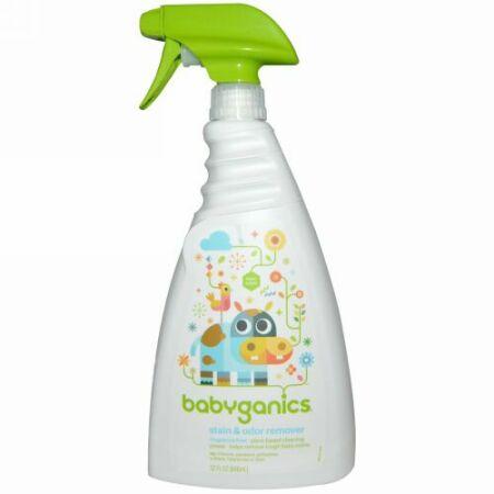 BabyGanics, 防汚・防臭剤, 香料不使用, 32 オンス (946 ml) (Discontinued Item)